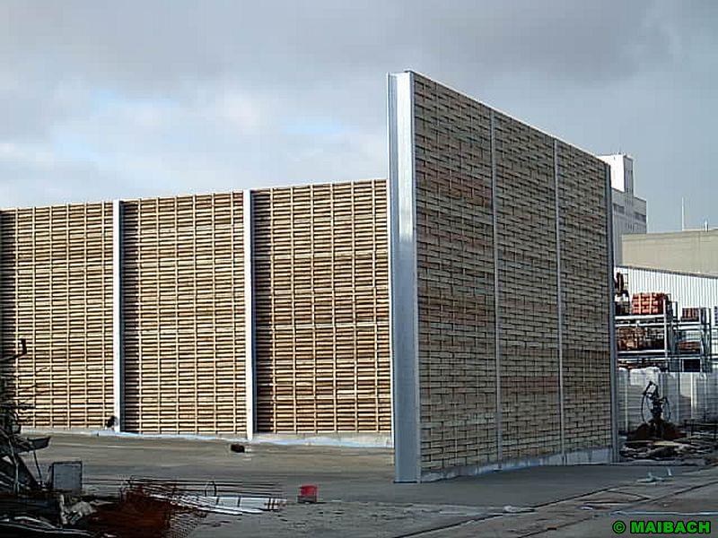 Panneaux acoustiques en bois for Panneau anti bruit exterieur